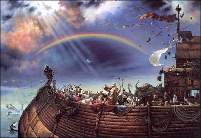 The Biblical Apocalypse of Climate Change Denial: Part 1 Noah's Ark